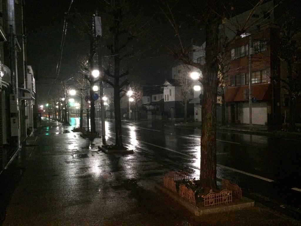 橿原神宮前駅の通り
