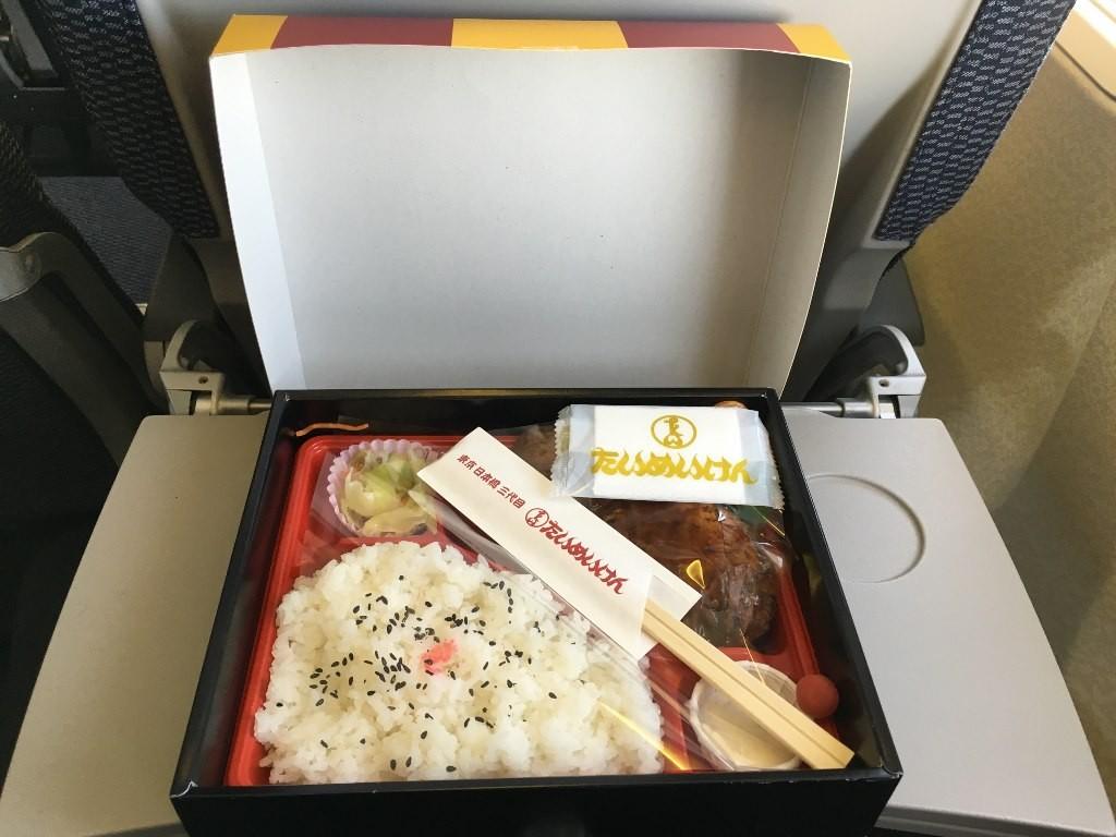 たいめいけん ハンバーグ弁当 羽田空港お弁当 (5)