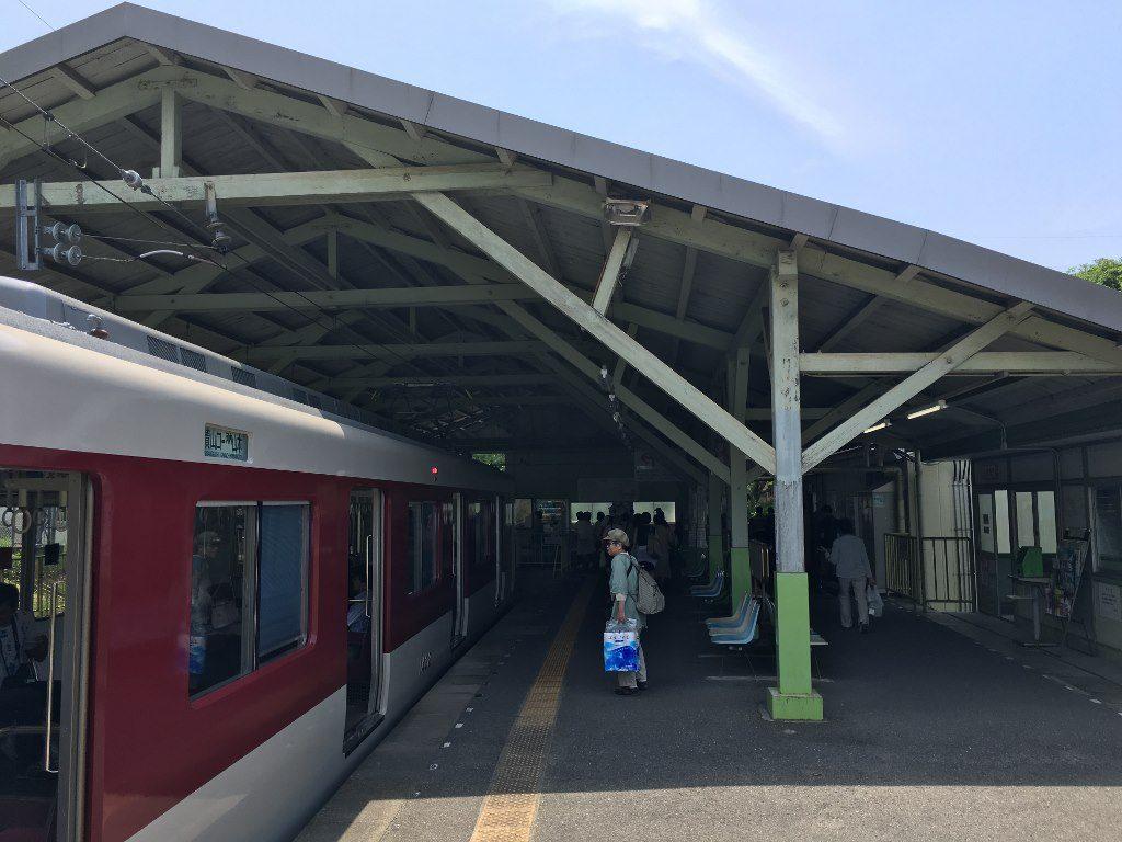 信貴山口駅と信貴線とケーブルカー (18)