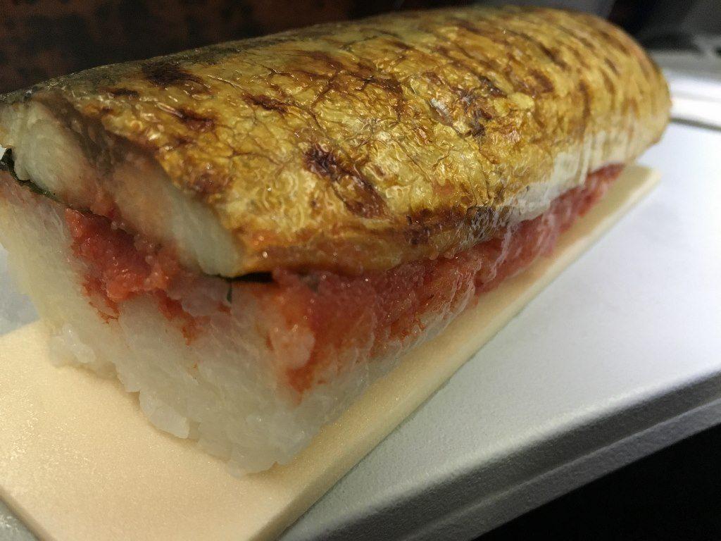 やまやの博多めんたい焼き鯖ずし (9)