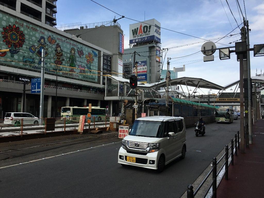 住吉大社への阪堺電軌線 (2)