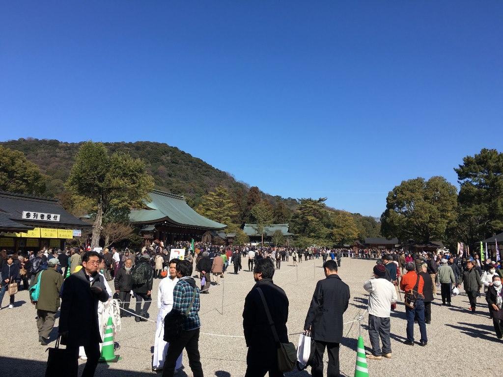 橿原神宮紀元祭7
