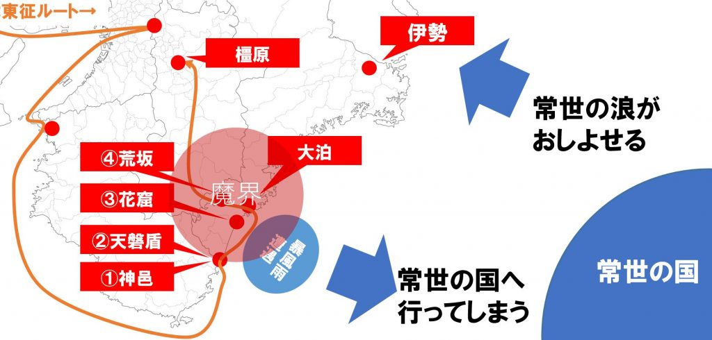 神武東征ルート4