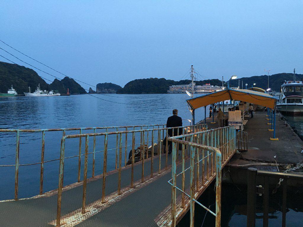 ホテル浦島への船 (4)