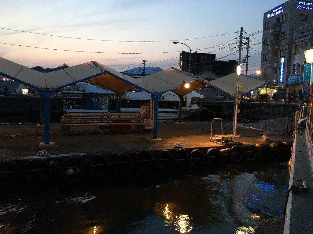 ホテル浦島への船 (12)