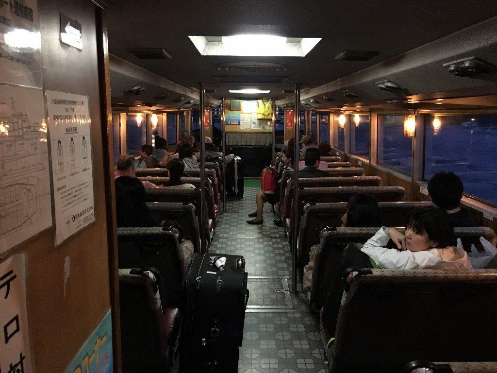ホテル浦島への船 (1)