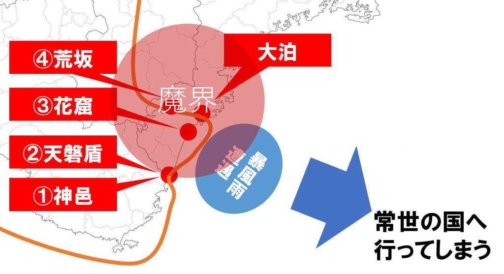 神武東征ルート3