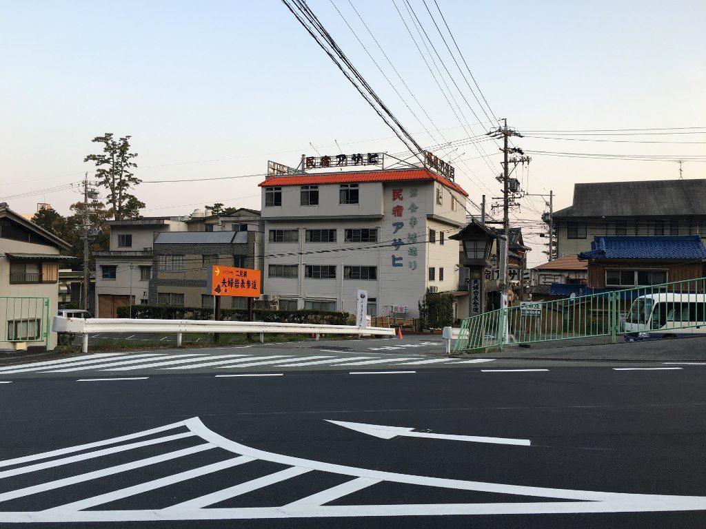 JR二見駅から神社へ (2)